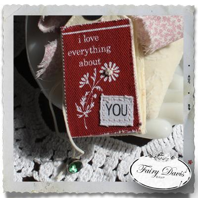 Fairy's Love Notes Sachet: Pink Poppy